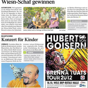 Tips, 36. Woche 2012