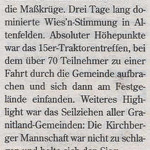 Tips, 41. Woche 2008